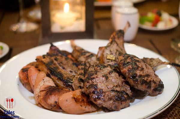 Peninsula Manila Barbecue by the Pool Meat