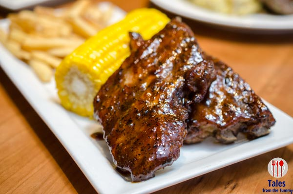 Chilis Sweet Mustard Seed Baby Back Ribs