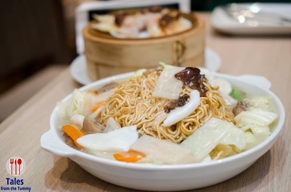 Superbowl of China Megamall Crispy Noodles with Seafood