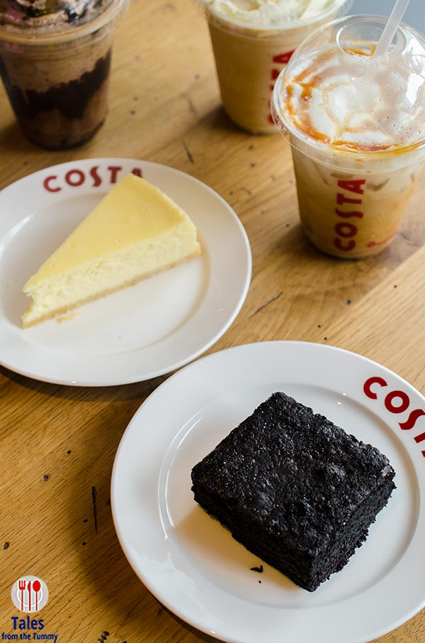 Costa Coffee Philippines Salted Choco Brownie