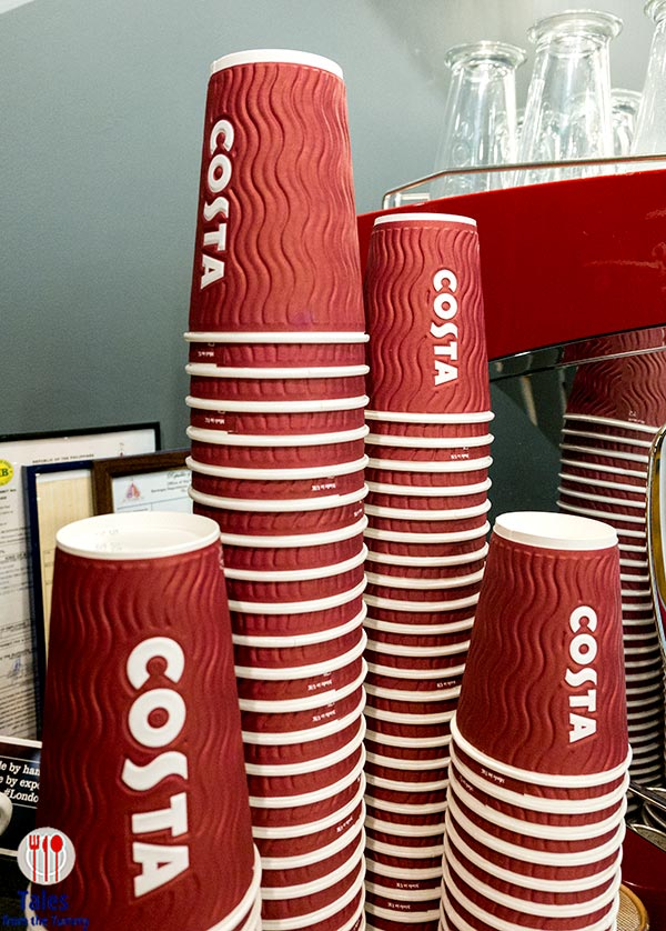 Costa Coffee Philippines siganture cups