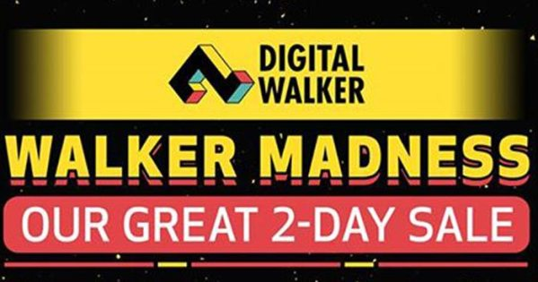 Digital Walker Madness at the Rockwell Tent