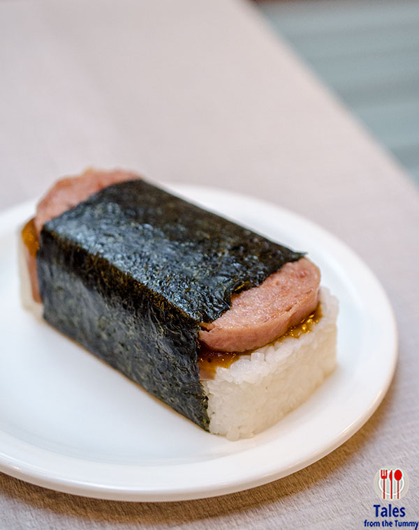 L and L Hawaiian BBQ Spam Musubi