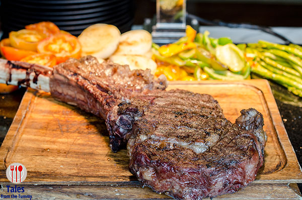 Sage Sunday Grill Buffet Tomahawk Steak