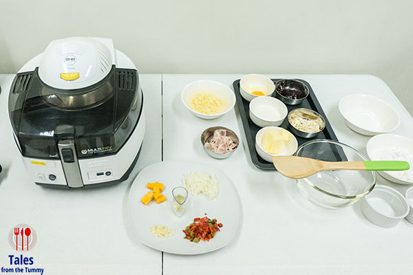 Delonghi Multifry South West Potato Hash Ingredients