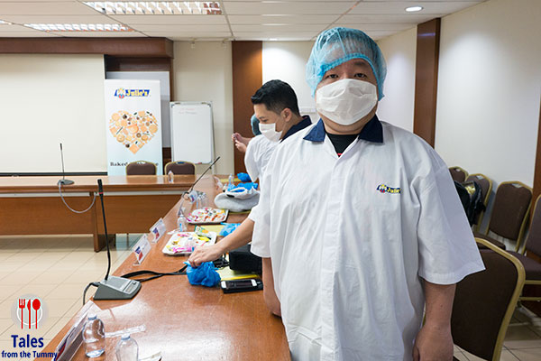 Julies Biscuits Factory Protective wear