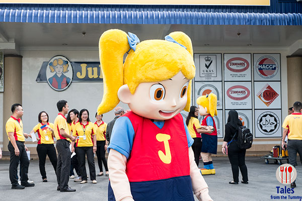 Julie's Biscuits Mascot