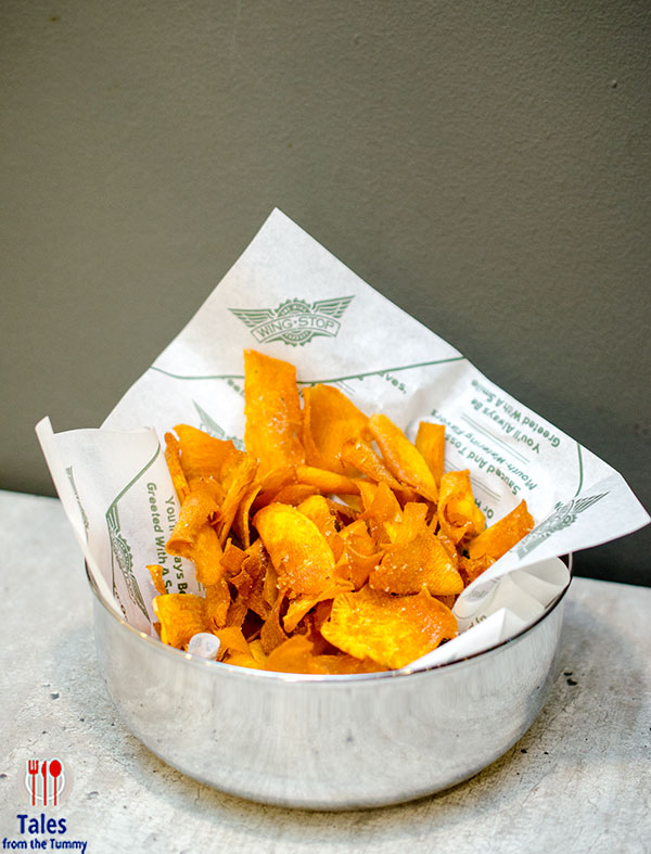 Wingstop Estancia Mall Sweet Potato Chips