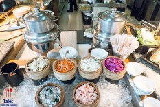 Fairmont Hotel Makati Spectrum Noodle Station