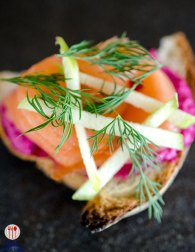 Salmon Tartine
