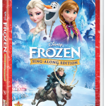 Give the gift of song with FROZEN SING-ALONG EDITION
