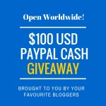 $100 Paypal Giveaway Open worldwide