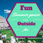 Fun summer games to play outside