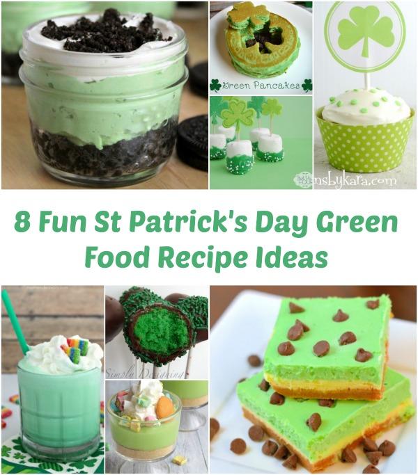 St Patrick S Day Breakfast She Brooke: 8 Fun St Patrick's Day Green Food Recipe Ideas