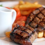 Quick, Tasty Steak And Chips Recipe