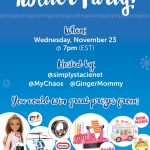 RSVP for the #MGAHoliday Twitter Party on November 23rd!