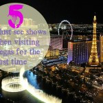 5 Must see Shows when Visiting Vegas for the First Time