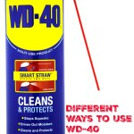 Different Ways to Use WD-40 Around the House