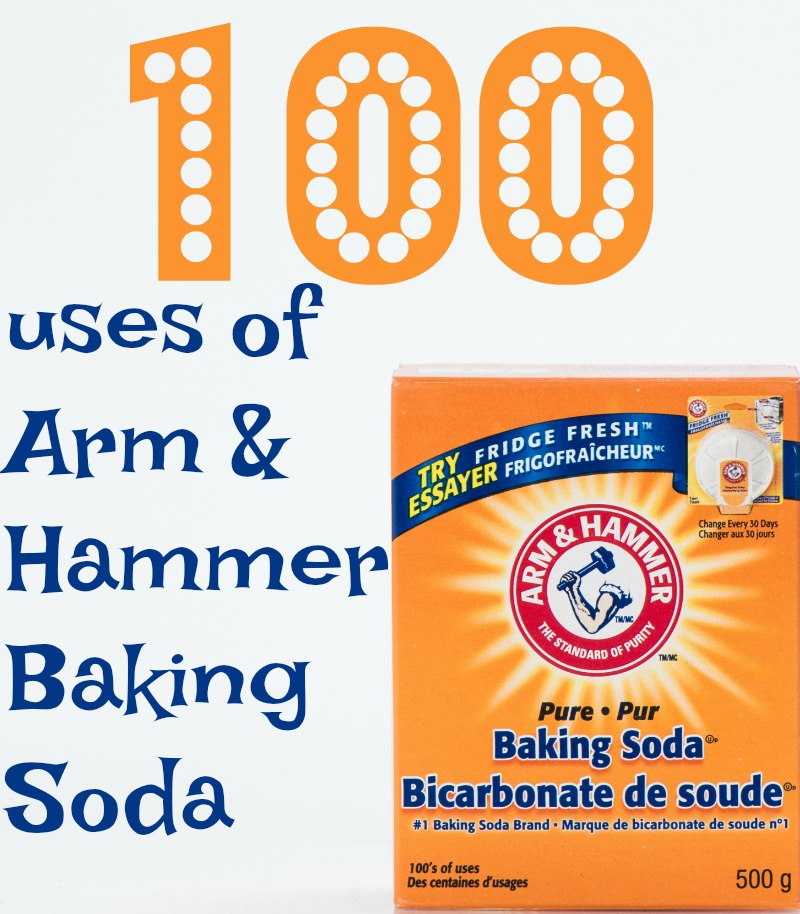 100 uses of Arm & Hammer Baking Soda