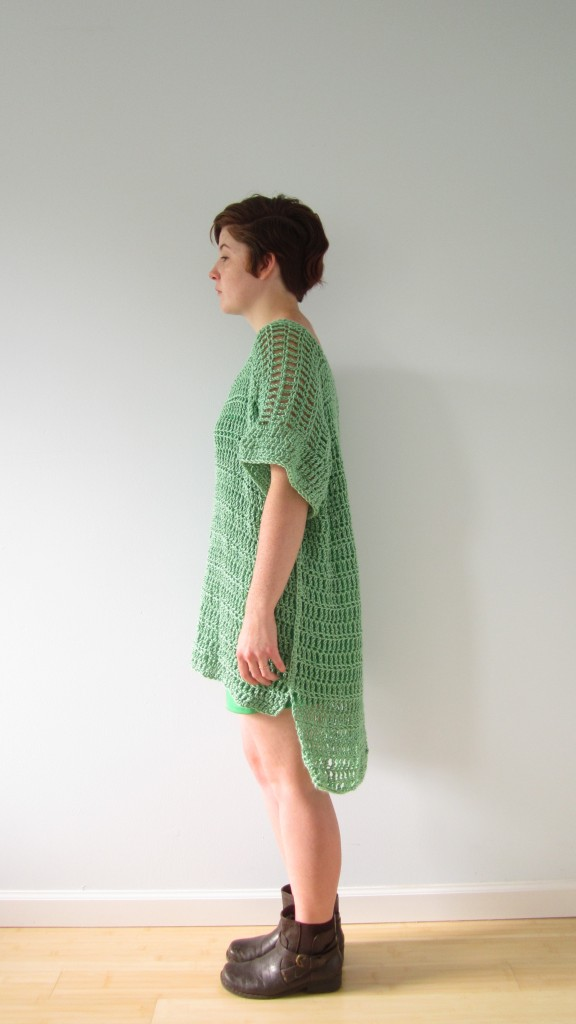 green boxy top 3
