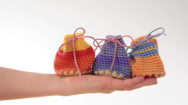 crochet drawstring pouches 3