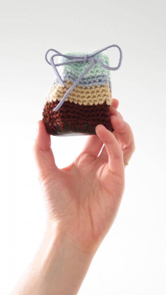 crochet drawstring pouches 5