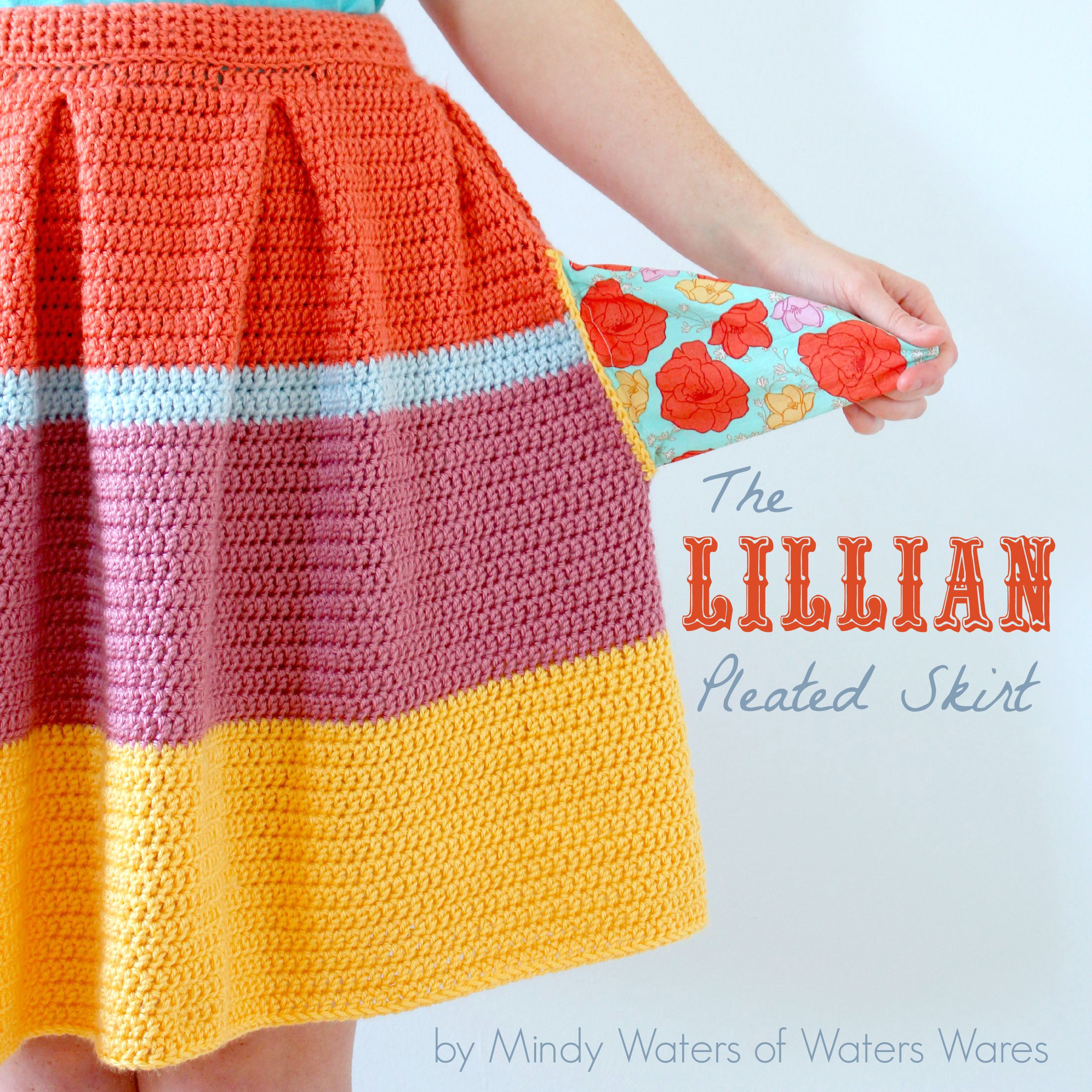The Lillian Pleated Skirt Pattern - Tales of Butterflies