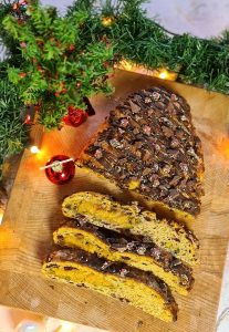 Vegan Dutch Christmas Bread (Kerststol)