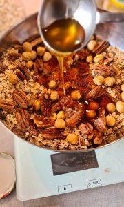 Homemade Granola with Pecan & Hazelnut