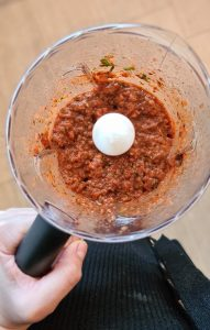 Lahmacun topping