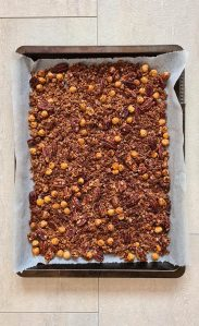 Recipe Homemade Granola with nuts