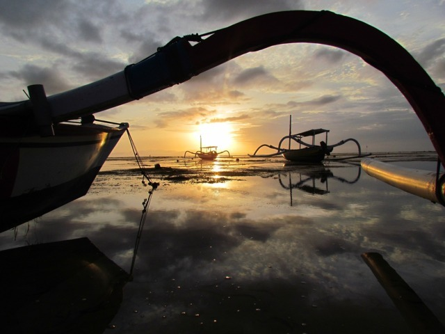 Sanur Beach one of the best beaches in Bali