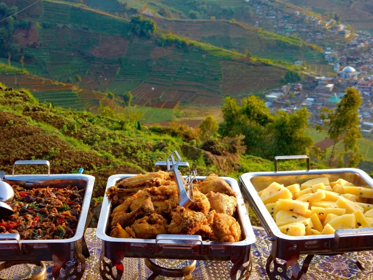 Reason to visit food with a view