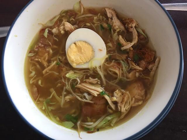 Soto Ayam, chicken soup