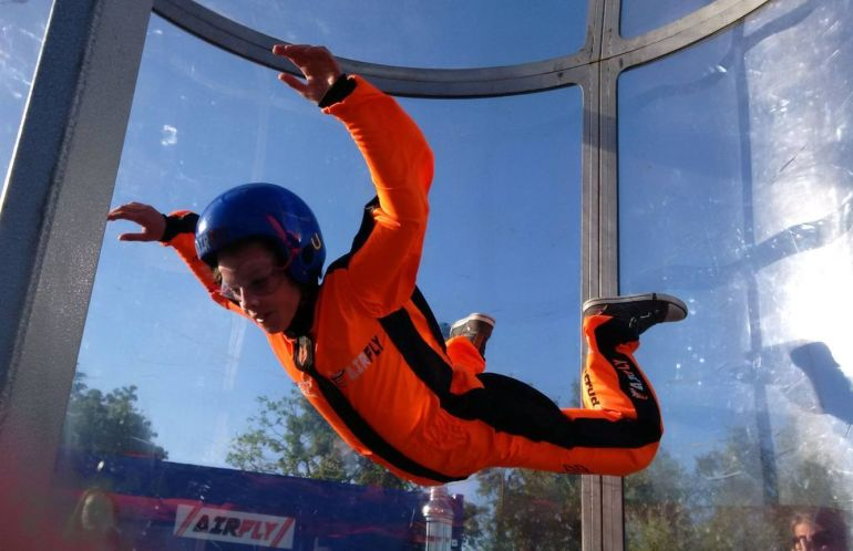 Indoor SKydiving Bali TaleTravels