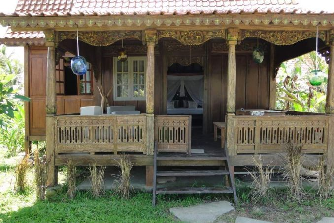 Bali Sawah Indah bungalow with porch