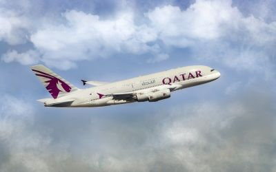 Qatar Airways Economy Review (Asian Vegetarian Meal)