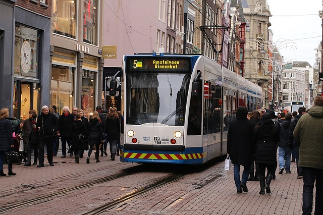 How to get around Amsterdam with Tram