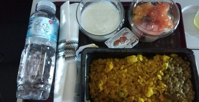 Qatar AIrways Vegetarian Meals