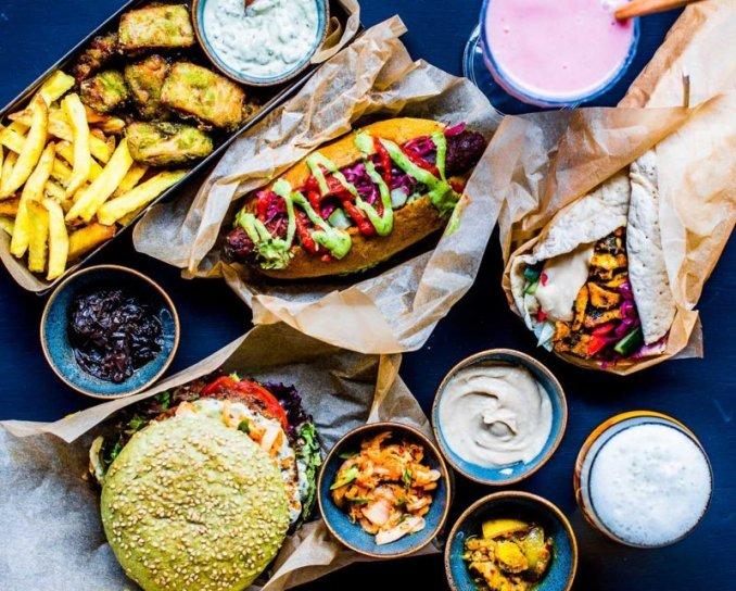 The Dutch Weed Burger Amsterdam Vegan food