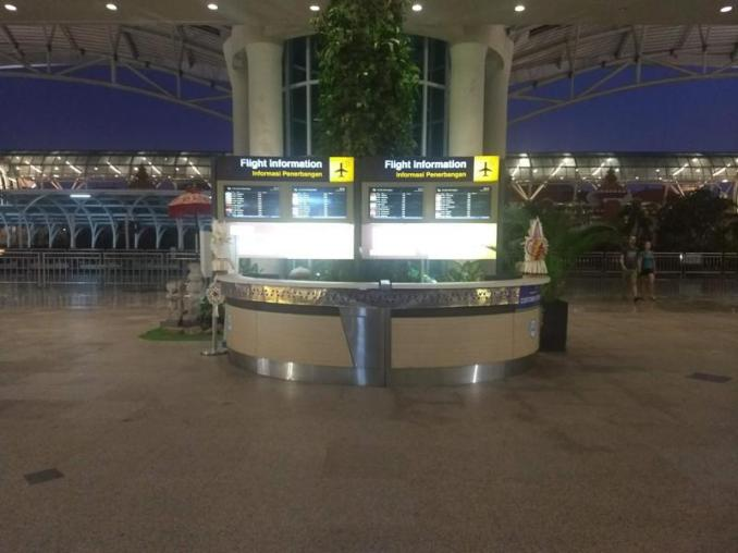 Flight Information Bali AIrport for taxi drivers