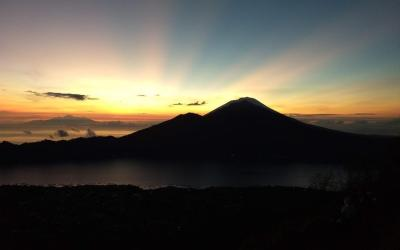 Mount Batur sunrise trek. #1 Best view of Bali. Review, price and tips
