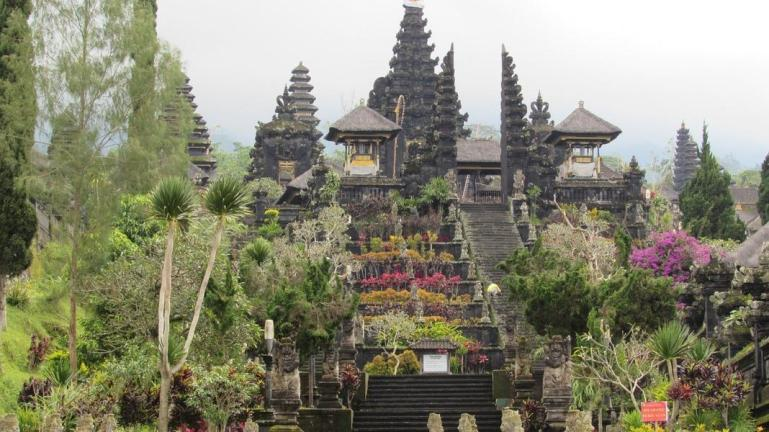 Besakih temple nearby Candidasa great place to visit