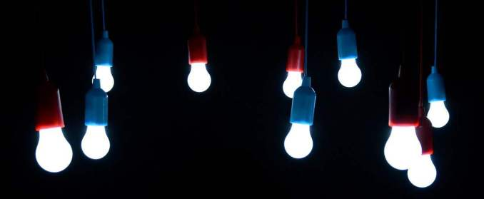 LED bulbs save on electricity