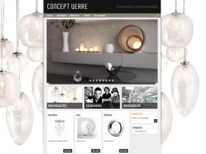 TALIDAD Concept Verre site internet paris Talidad Agence de Communication Paris et Nice