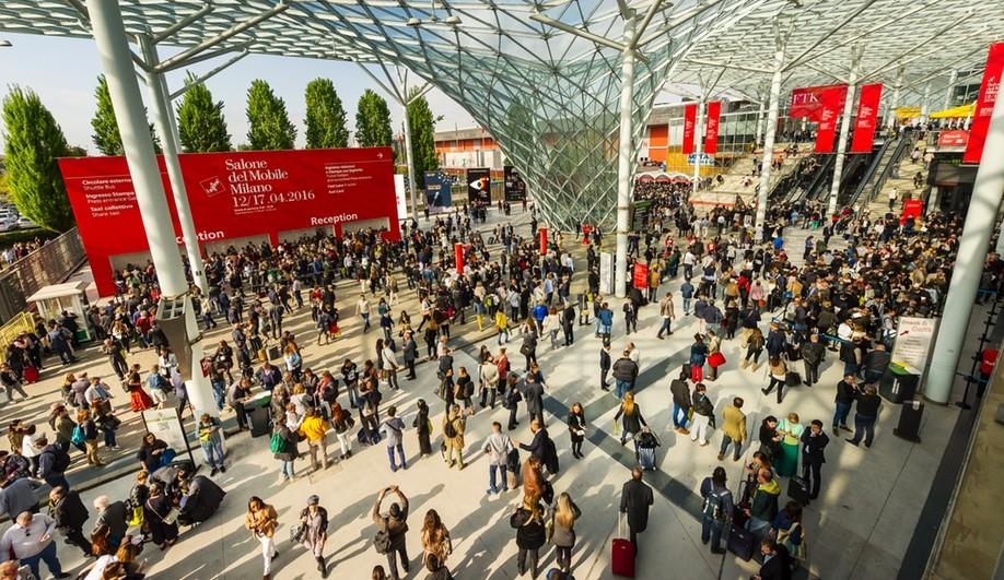 Salon de Milan Concept Verre Talidad Communication