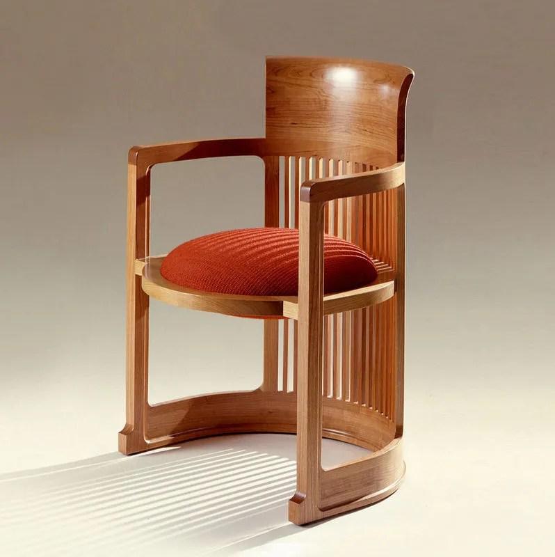 frank lloyd wright chairs high chair kmart taliesin barrel s 0