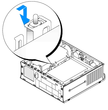 Chassis Intrusion Switch: Dell OptiPlex GX620 User's Guide