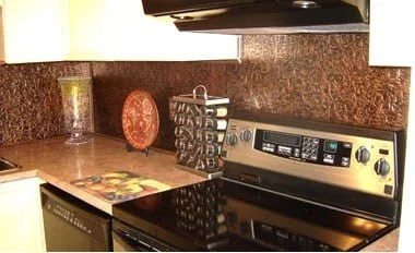 kitchen backsplash rolls apple valley cabinets in the talissa decor ceiling tiles