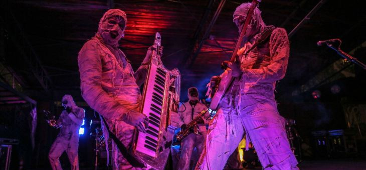 Interview: Java Mummy of Here Come The Mummies @ State Theatre 10/16